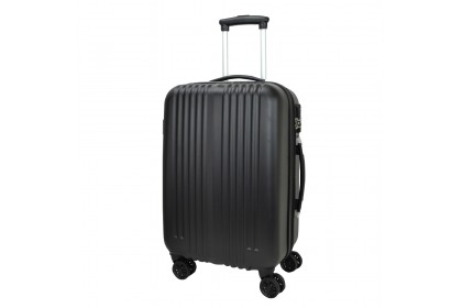 Slazenger SZ2512 ABS Expandable Hardcase Luggage 28-inch Black