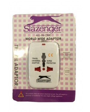 Slazenger SZ931 All-in-One World Wide Adaptor