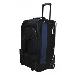 Slazenger SZ1115 Rolling Duffle Bag with Trolley 22-inch Blue