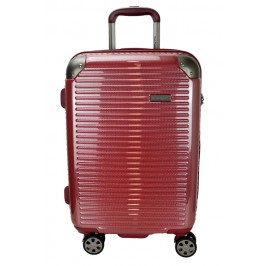 Hush Puppies 694013 PC Hard Trolley Case Luggage 20-inch Red
