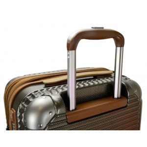 Hush Puppies 694013 PC Hard Trolley Case Luggage 25-inch Gold