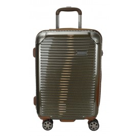 Hush Puppies 694013 PC Hard Trolley Case Luggage 20-inch Gold