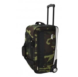 Slazenger SZ1115 Rolling Duffle Bag with Trolley 22-inch Camouflage
