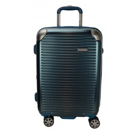 Hush Puppies 694013 PC Hard Trolley Case Luggage 20-inch Blue
