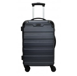 Slazenger SZ2528 ABS Expandable Spinner Hardcase Luggage 24-inch Grey