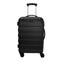 Slazenger SZ2528 ABS Expandable Spinner Hardcase Luggage 28-inch Black