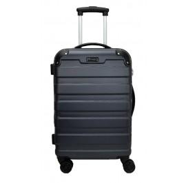 Slazenger SZ2528 ABS Expandable Spinner Hardcase Luggage 20-inch Grey