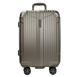 Hush Puppies 694011 ABS Hard Trolley Case Luggage 25-inch Moca Grey