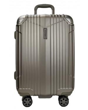 Hush Puppies 694011 ABS Hard Trolley Case Luggage 25-inch Moca Grey