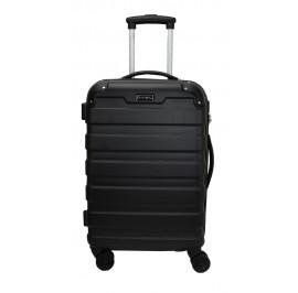 Slazenger SZ2528 ABS Expandable Spinner Hardcase Luggage 20-inch Black