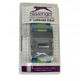 Slazenger SZ7086 Luggage Strap 2-inch Green
