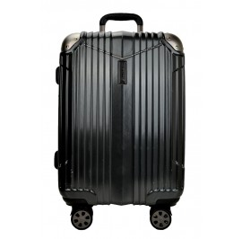 Hush Puppies 694011 ABS Hard Trolley Case Luggage 25-inch Black