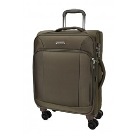 Hush Puppies 693133 Expandable Soft Spinner Case Luggage 20-inch Brown