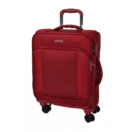 Hush Puppies 693133 Expandable Soft Spinner Case Luggage 20-inch Red