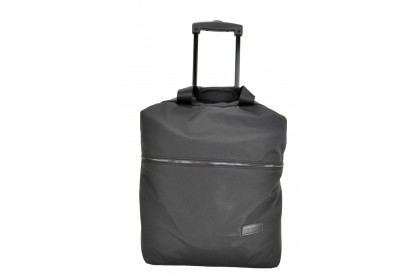Hush Puppies 693309 Document Bag with Trolley 17-inch Black