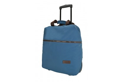 Hush Puppies 693309 Document Bag with Trolley 17-inch Blue