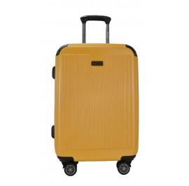 Slazenger SZ2538 PP Expandable Hardcase Luggage 29-inch Yellow