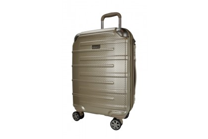 Hush Puppies 694015 PC Expandable Hardcase Luggage 20-inch Champagne