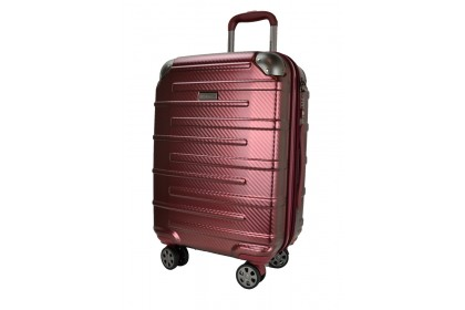 Hush Puppies 694015 PC Expandable Hardcase Luggage 20-inch Red