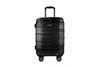Hush Puppies 694015 PC Expandable Hardcase Luggage 25-inch Black