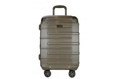 Hush Puppies 694015 PC Expandable Hardcase Luggage 25-inch Champagne