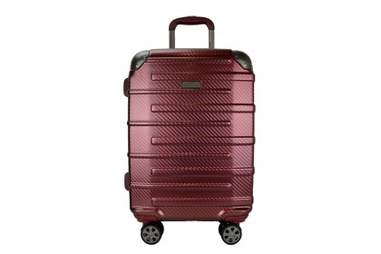 Hush Puppies 694015 PC Expandable Hardcase Luggage 25-inch Red