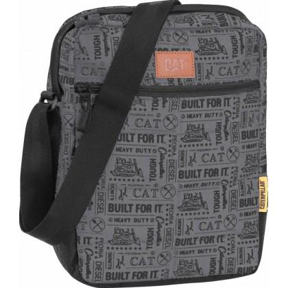 CAT Millennial Limited Edition AOP Built For It Ryan Tablet Bag Black/Grey