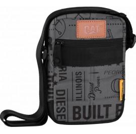 CAT Millennial Limited Edition Built For It Rodney Tablet Bag Black/Grey