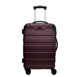 Slazenger SZ2528 ABS Expandable Spinner Hardcase Luggage 24-inch Maroon