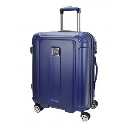 Slazenger SZ2531 Expandable PC and ABS Hardcase Luggage 26-inch Blue