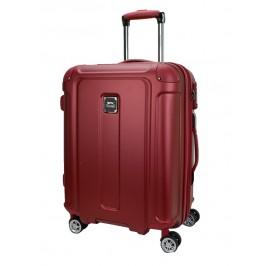 Slazenger SZ2531 Expandable PC and ABS Hardcase Luggage 26-inch Maroon