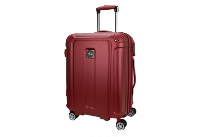 Slazenger SZ2531 Expandable PC and ABS Hardcase Luggage 26-inch Maroon