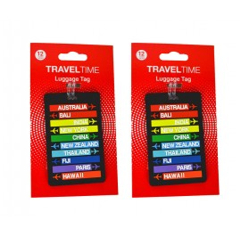 Travel Time T5302 Trendy Luggage Tag 2 Pax