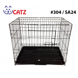 WCatz 304 / SA24 Collapsible Cat Cage