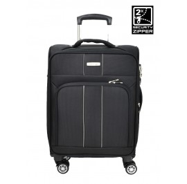 Slazenger SZ1118 24-inch Expandable Softcase Luggage with Double-Coil Zipper System