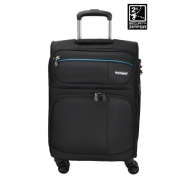 Hush Puppies 693139 20-inch Softcase Luggage with Double-Coil Security Zipper System