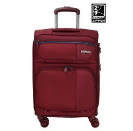 Hush Puppies 693139 28-inch Softcase Luggage with Double-Coil Security Zipper System