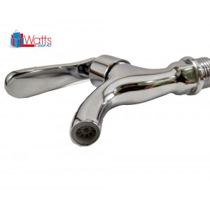 Filano FN903 Chrome Plated Kitchen Bathroom Sink Faucet Wall Bib Water Tap