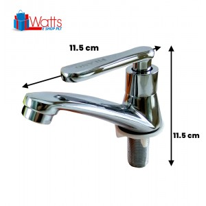 Filano FN905 Chrome Plated Kitchen Bathroom Sink Faucet Bib Water Pillar Tap