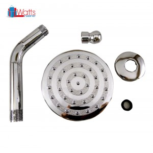 Domino DM-H01 4-inch Shower Head Set with Shower Arm