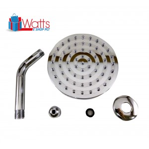 Domino DM-H01 6-inch Shower Head Set with Shower Arm