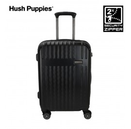 Hush Puppies HP-694010 25-inch ABS Expandable Hardcase Luggage with Security Zipper