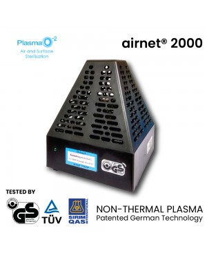 Plasma-O2 Airnet 2000 Non-Thermal Plasma Air and Surface Sterilisation