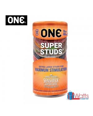 One Condom Super Studs 12's