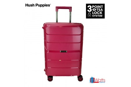 Hush Puppies HP-694020 20-inch PP Hardcase Luggage with 3-Point Lock System