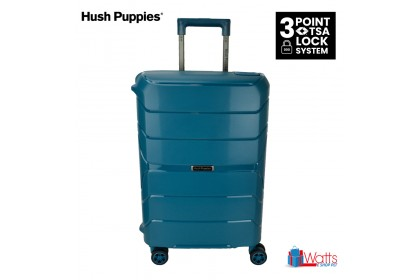 Hush Puppies HP-694020 25-inch PP Hardcase Luggage with 3-Point Lock System