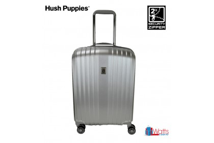 Hush Puppies 694019 20-inch ABS-PC Hardcase Luggage with Security Zipper