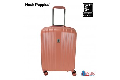 Hush Puppies 694019 28-inch ABS-PC Hardcase Luggage with Security Zipper