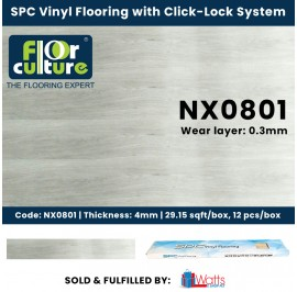 Floor Culture SPC 4mm Vinyl Click-Lock Flooring