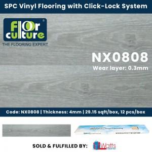 Floor Culture SPC 4mm Vinyl Click-Lock Flooring